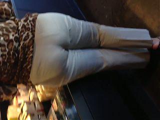 Mature Latina with a big booty