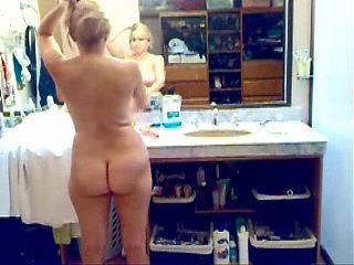 My wife hidden cam